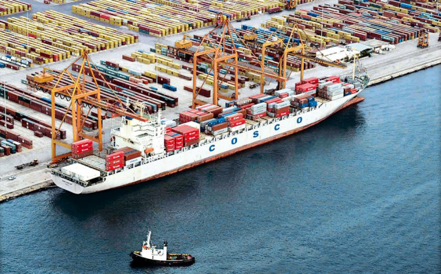 88f831dff9ae75 Cosco Shipping has disclosed plans to expand its port portfolio by  investing 3 billion USD in China and Spain and in parallel has augmented  its long ...