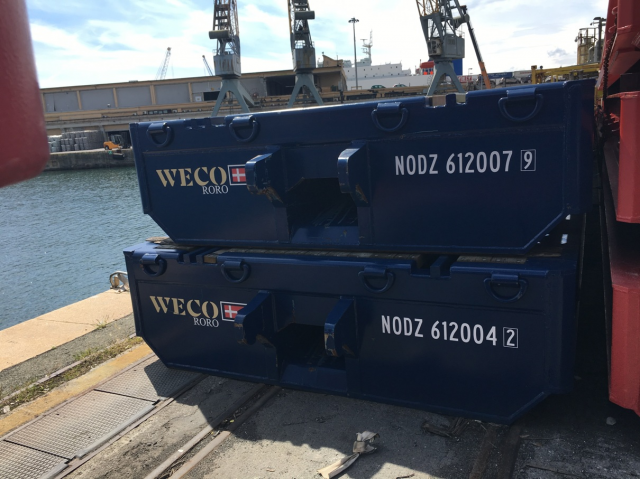 WECO RoRo's rolltrailers back on the market - Ship2Shore