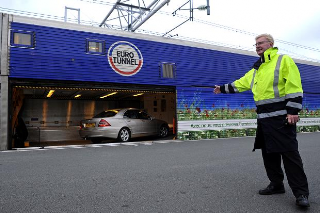 The Ferry Sinks Down Eurotunnel Results Ship2shore