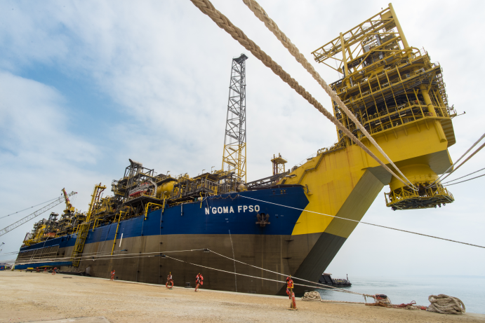 ENI waiting for the final refit before starting operation in