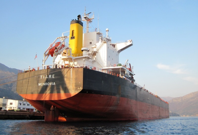 Baccichetti confirms that the bulk carrier Tiare will be put up for
